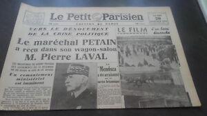 JOURNAUX-LE-PETIT-PARISIEN-N-23-327-LUNDI-20-JANVIER-1941