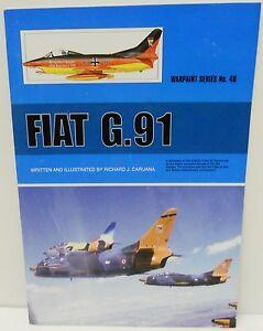 Warpaint-Series-No-049-Fiat-G-91-40-Pages-Book