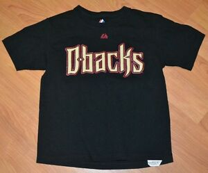 newest 23686 7a62b Details about Arizona Diamondbacks Youth Medium Paul Goldschmidt Jersey T  Shirt MLB Nice Black