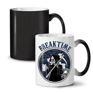 Break Time NEW Colour Changing Tea Coffee Mug 11 oz | Wellcoda