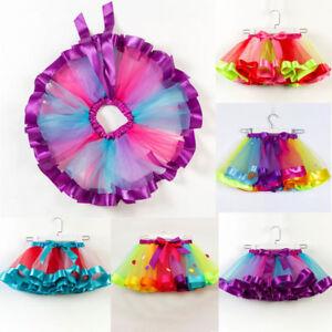 4a238ccac Girls Kids Tutu Skirt Tulle Princess Party Dance Ballet Dress ...