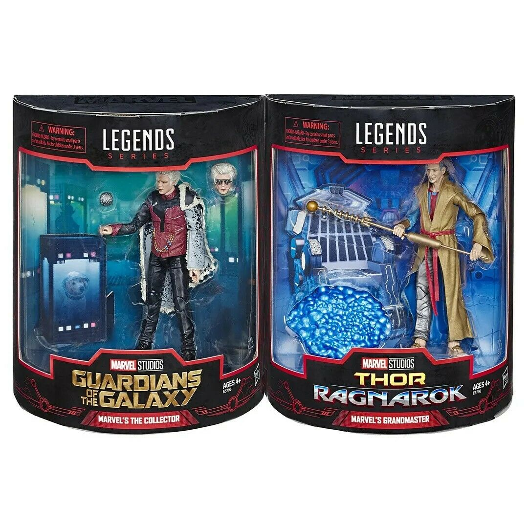 Hasbro Marvel Legends The Collector & Grandmaster SDCC 2019 - Guardians & Thor