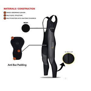Mens-Cycling-BIB-Collants-Rembourre-Thermal-Longues-Jambieres-MTB-Hiver-Velo-Pantalon
