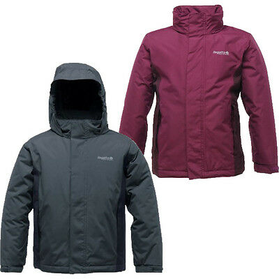 RRP £40 KIDS REGATTA INSULATED WATERPROOF ISOTEX JACKET AGE 3-15yrs Obstcl
