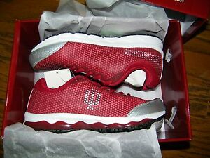 Indiana University Hoosiers IU Red Forus Tennis Shoes Running women's Size 9