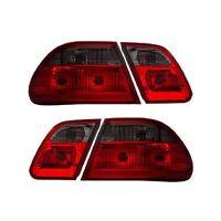 Cg Mercedes Benz E Class W210 00-02 Tail Light G2 Red/smoke (w/o Led)