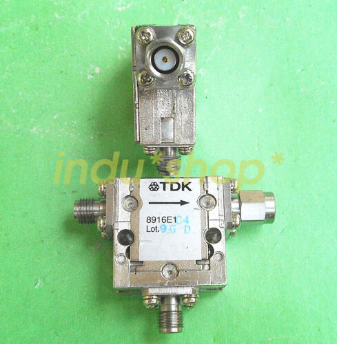 For 1pcs used TDK 8916E1D4 4.5-6.8GHz SMA RF coaxial circulator