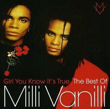 Girl You Know It's True: The Best of Milli Vanilli by Milli Vanilli (CD, Jul-2013, Sony Music)