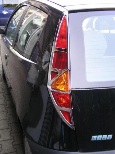 FIAT punto 99-03 3trg Feux Arrière Cadre Chrome