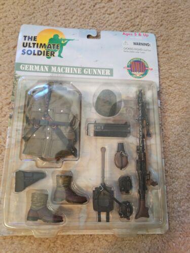 The Ultimate Soldier German Machine Gunner Set 34320 2000 Authentique Détail Ww2