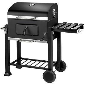 Holzkohlegrill-BBQ-Holzkohle-Barbecue-Grill-Gartengrill-Grillwagen