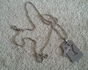 Boxed 29034 Men039s Chain with Rectangular Pendant and Letter Y Stainless steel - Slough, United Kingdom - Boxed 29034 Men039s Chain with Rectangular Pendant and Letter Y Stainless steel - Slough, United Kingdom