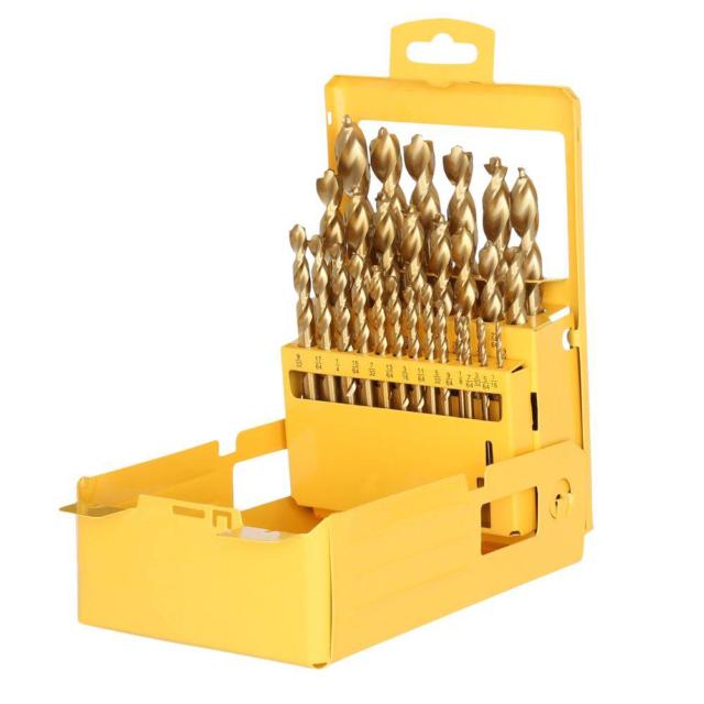 Dewalt Titanium Drill Bit Set For Wood Metal And Pvc For Sale Online