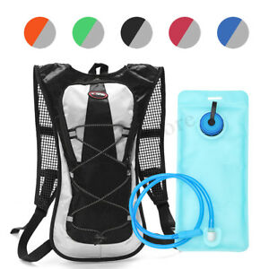 eae0c79061 Image is loading Cycling-Backpack-2L-Water-Bladder-Bag-Hydration-Pack-