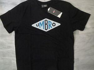 Tee-shirt-UMBRO-noir-modele-034-Logo-034-Disponible-du-S-au-XXL