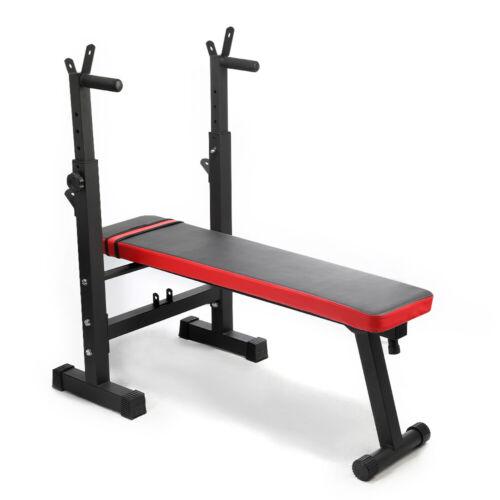 Hantelbank Multifunktion Trainingsbank Schrägbank Klappbare Fitness Bench Gym DE
