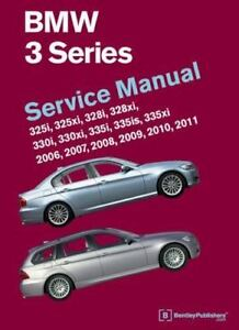 bmw 3 series e90 e91 e92 e93 service manual 2006 2007 2008 rh ebay com bmw repair manual e90 bmw 320i e90 owner's manual
