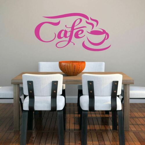 Entryway Cafe Wall Decal Coffee Quotes Kitchen and Dining Room