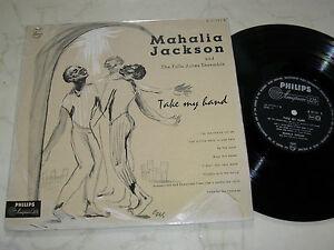 10-034-MAHALIA-JACKSON-AND-THE-FALLS-JONES-ENSEMBLE-Take-My-Hand-PHILIPS-LABEL