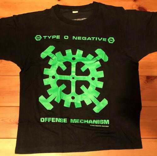 ⛔️ TYPE O NEGATIVE ⛔️ 1991 Offense Mechanism XL Sh