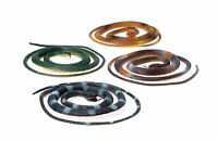 Set Of 12 - Rubber 42 Coiled Rubber Prop Toy Snakes Free Shipping