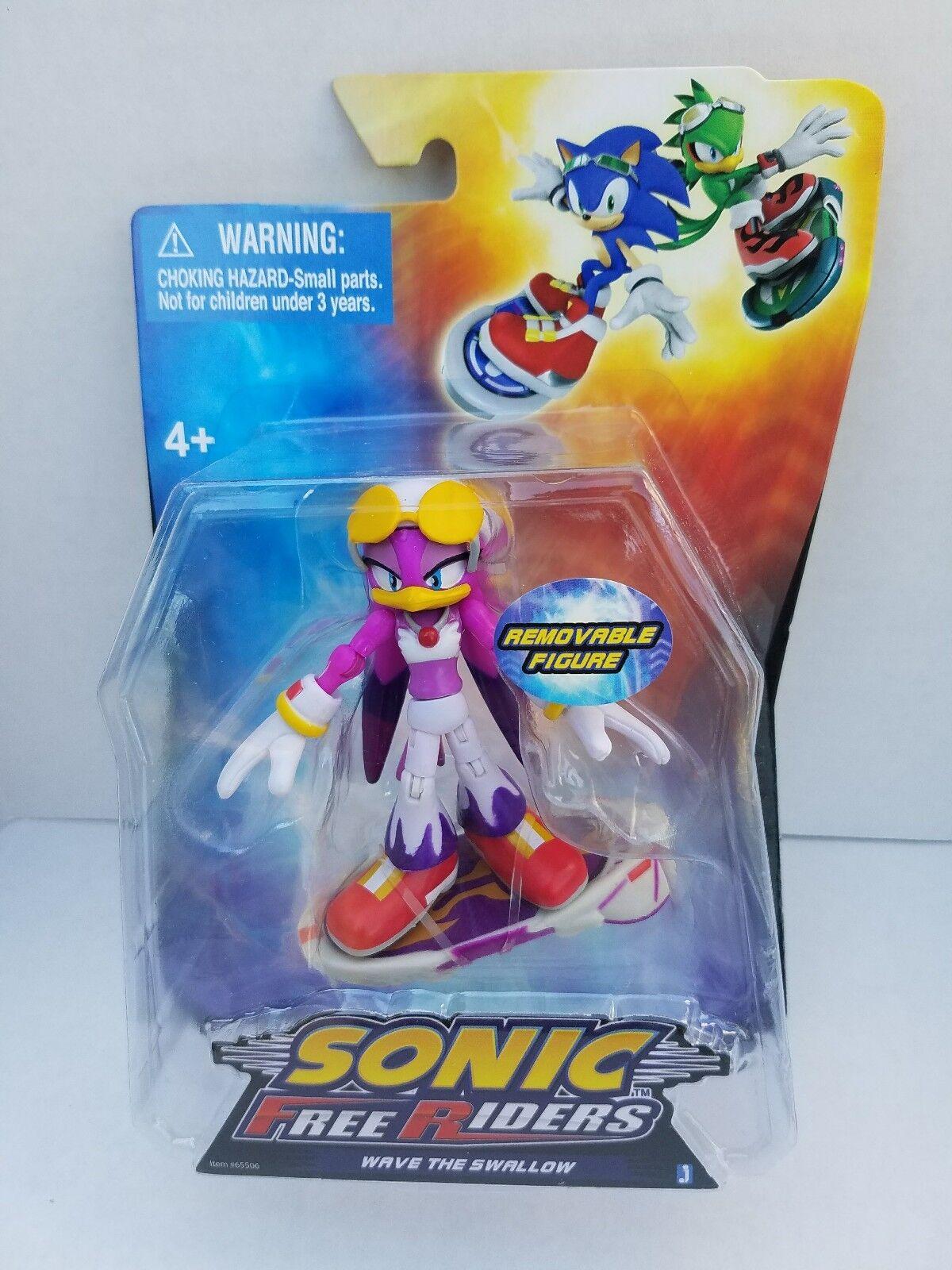 Sonic Free Rider Raro Jazwares onda el tragar Juguete