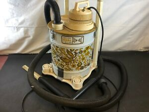 Vintage-Walton-Wet-Dry-Power-Canister-Vacuum-Cleaner-Attachments-Tested-Works