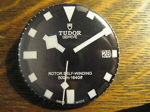 Tudor geneva rotor self winding black watch advertisement pocket lipstick mirror ebay for Tudor geneve watches