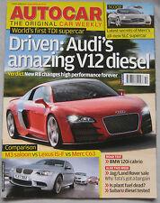 Autocar 2/4/2008 featuring BMW M3, Lexus IS-F, AMG Mercedes C63, Audi R8, Alpina