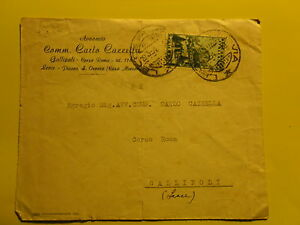 LETTRE-19-3-1954-POUR-GALLIPOLI-PROCUREUR-EMBARQUEE-CARLO-CASEY-25-LIVRES