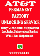 Apple iPhone 4 UNLOCK AT&T ATT UNLOCK CODE Service