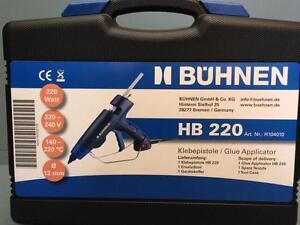 Schmelzklebepistole-Klebepistole-Heissklebepistole-Buehnen-HB220-Heisskleber-Kleber