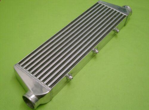"Burstflow Universal Ladeluftkühler Einbauset 550x180x65mm 57mm 2,25/"" schwarz o.B"