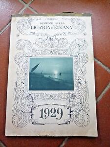 Calendario 1929.Dettagli Su Liguria Pubblicita Calendario 1929 Genova Imperia Savona Imperia La Spezia