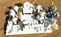 Lego Star Wars 3866 Game - 11 Figs + Micro Lego Hoth Base - Troopers Chewy C3po