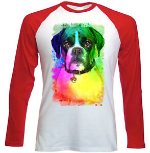 BOXER  NEW RED SLEEVED TSHIRT - London, United Kingdom - BOXER  NEW RED SLEEVED TSHIRT - London, United Kingdom