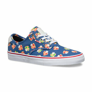 b0612c32adcc2d VANS x NINTENDO Mens Shoes (NEW) Chima Ferguson Pro BLUE MUSHROOMS ...