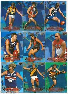 1999 Select All Australian FULL SET 22 Cards