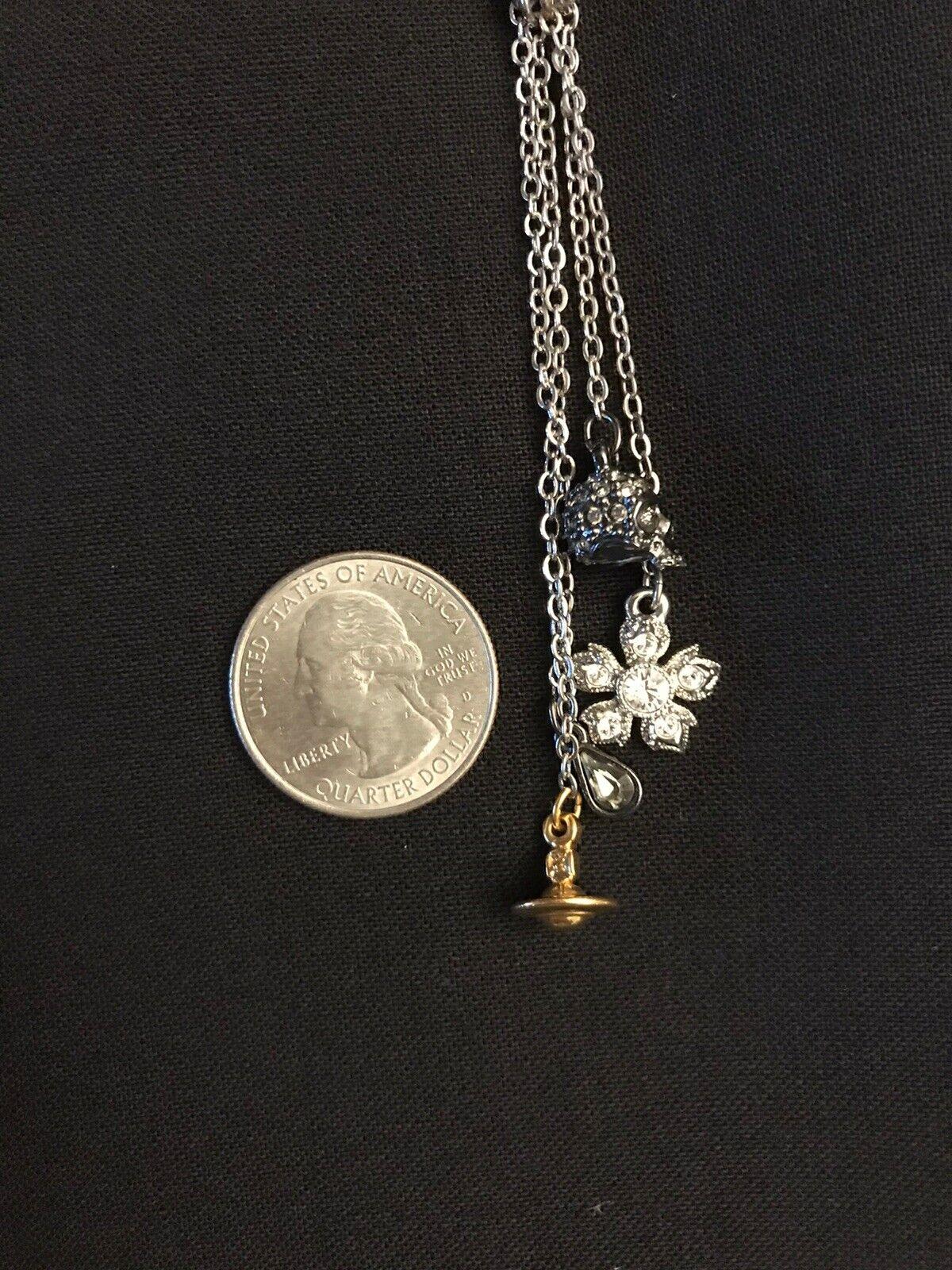 Vivienne Westwood Necklace Skull, Orb & More. Sil… - image 8