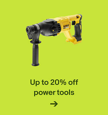 Up to 20% off power tools