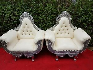 Tremendous Details About Wedding Love Lounge Sofa King Queen Throne Chairs For Event Decor For Sale Gmtry Best Dining Table And Chair Ideas Images Gmtryco