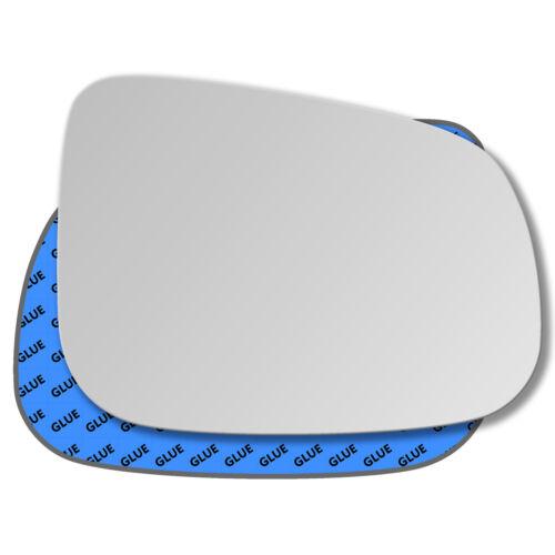 Droit Côté Passager Miroir De Verre Rétroviseur Extérieur Pour VOLVO v60 2011-2018