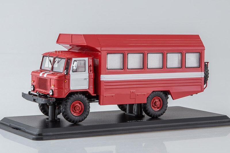 KSP-2001 USSR Mobile Ambulance on GAZ 66 Chassis  1 43 Start Scale Models SSM119