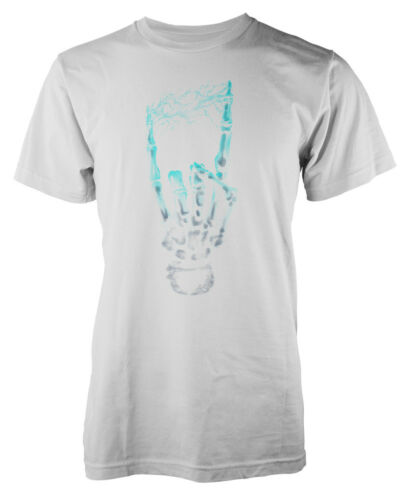 Electrifying Music Rock N Roll Hand  Adult T-Shirt