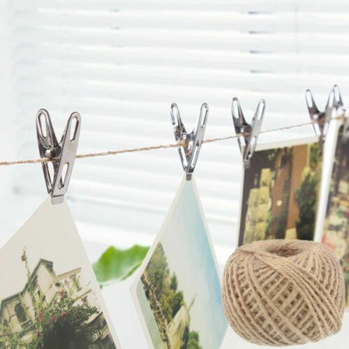 Cords Twine Party Supplies Bag Burlap Hessian Gift Packing Natural Jute Rope