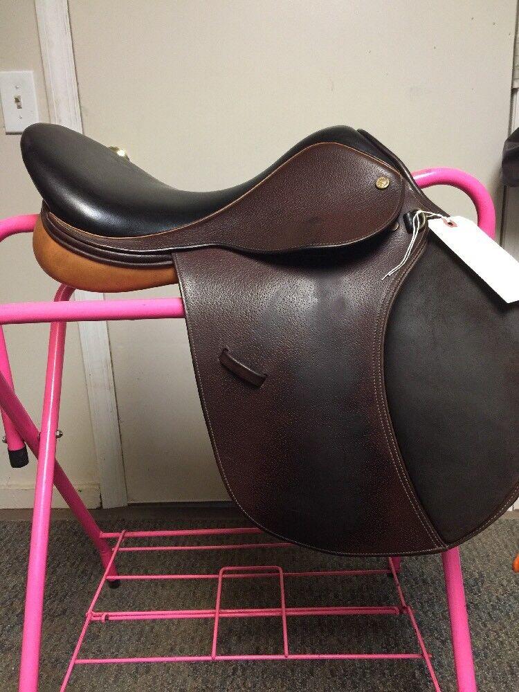 Collegiate RG Silla Inglesa estrecho contacto silla de montar de 16.5 pulgadas