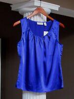 Chico's Blue Silky Splendor Tank Top Shell Cami Size 0 (4-6) $49