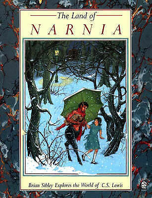 """AS NEW"" Sibley, Brian, Land of Narnia (Lions) Book"
