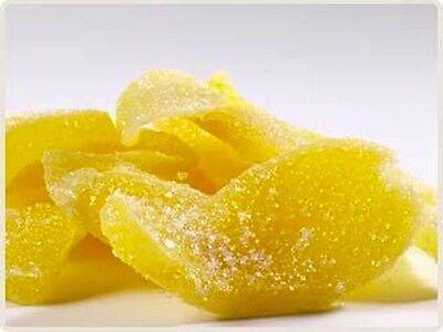 Candied Ginger Slices, quarter pound, Crystallized Ginger