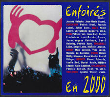 CD DIGIPACK 18T LES ENFOIRES EN 2000 FABIAN/ZAZIE/GOLDMAN/OBISPO/GAROU/HALLYDAY